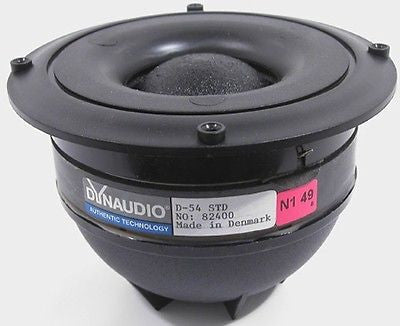 DynAudio D54 Dome Midrange - Needs Diaphragm  Largest Dome MID ever made.