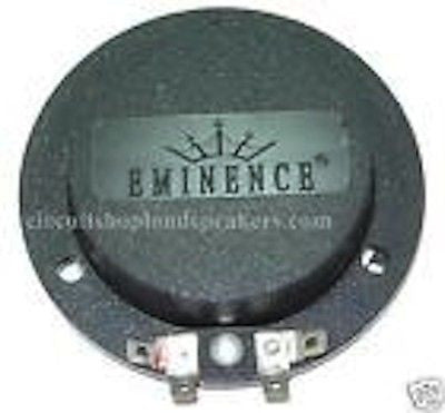 Eminence PSD-2002 DIAPHRAGM 8 or 16 ohm Free Shipping! AUTHORIZED DISTRIBUTOR!!!
