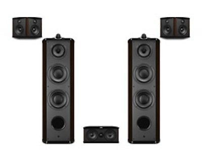 Swans Diva 8.3+ 5.0 HIFI Home Theater *New* ROSEWOOD GLOSS!! - Dealer COST!!