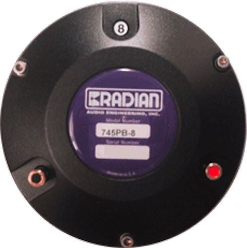 Radian 745 PB 8ohm Diaphragm Compression Driver - AUTHORIZED DEALER