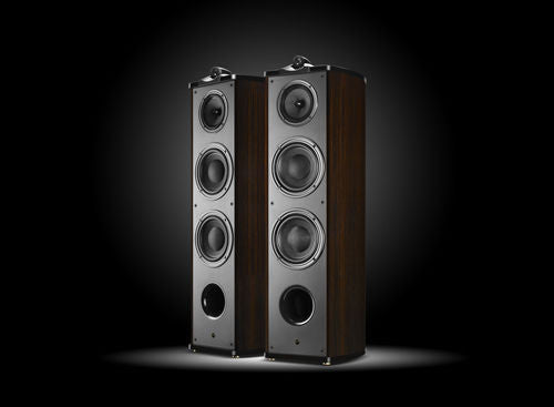 Swans Diva 8.3+ HIFI Home Theater SPEAKER Pair New ROSEWOOD GLOSS! Dealer COST!