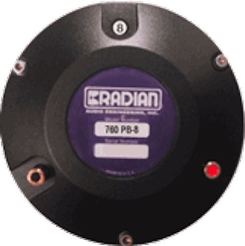 Radian 760 NEO Be PB  Diaphragm Compression Driver -