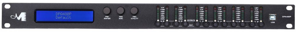 Marani DPA 480 4-IN 8-OUT Speaker Management System AUTHORIZED DEALER!!!