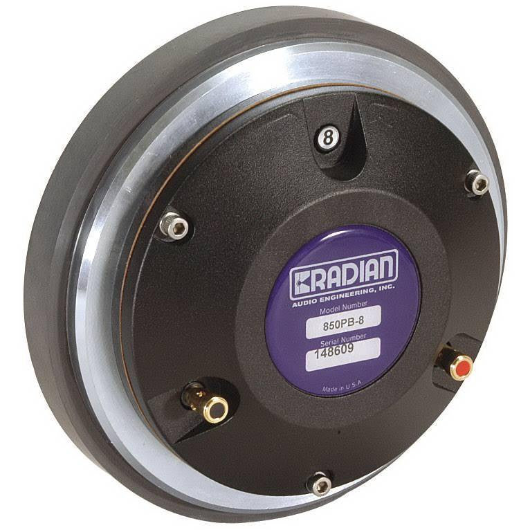 Radian 850 BE PB NEO 8ohm Diaphragm Compression Driver - AUTHORIZED DEALER