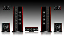 Swans 2.3+ ULTRA AUDIOPHILE Home Theater 5.0 SET - CHRISTMAS ONLY DEALER COST!!