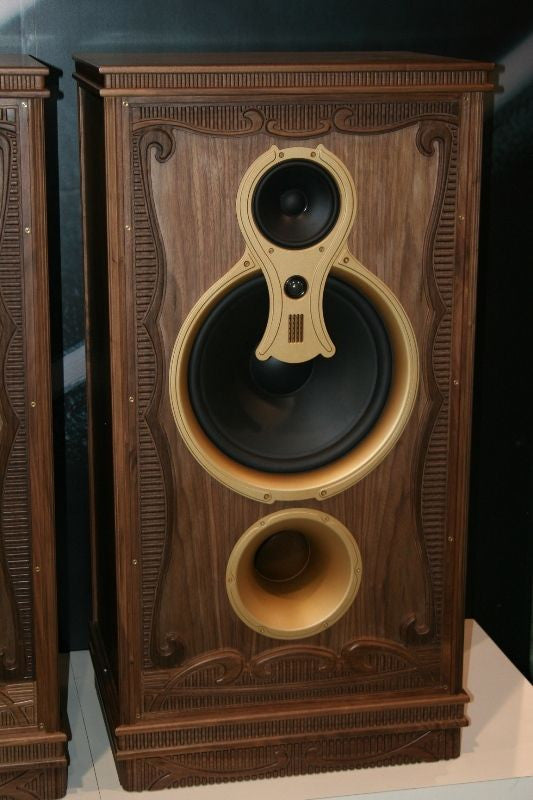 Swans F10 Home Theater PAIR Gorgeous Carved Cab 15