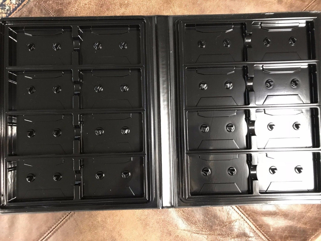 Audio Cassette Binder - 16 slots w/ front sleeve - GREAT DEAL!