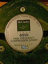 "MacCauley 6224 10"" Coax PAIR W/ 6510 Driver! SPECIAL PRICING!"