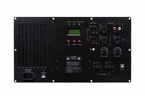 Pascal w/ Marani DSP PDASP2SA1 3-Channel Plate Amplifier AUTHORIZED DEALER!!!