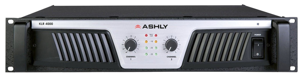 Ashly AUDIO KLR-4000 4000 Watt Professional Power Amp  AUTHORIZED DEALER!!!
