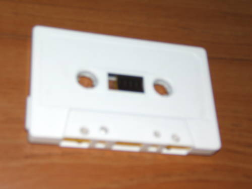 Audio Casettes - Box of 100 C-56   56 minute  White or Clear Tab Out SHell