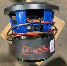 "AmericanBass HD-8 D2 8"" Competition Sub 800W Dual 2 Ohm"