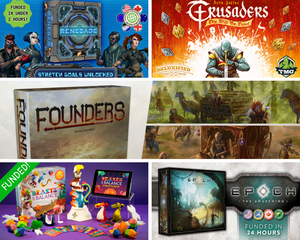 Kickstarter Update: Founders of Gloomhaven, Crusaders, Beasts of Balance and More!