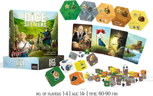 Keeping Up With Kickstarter | Second Chances: Dice Settlers
