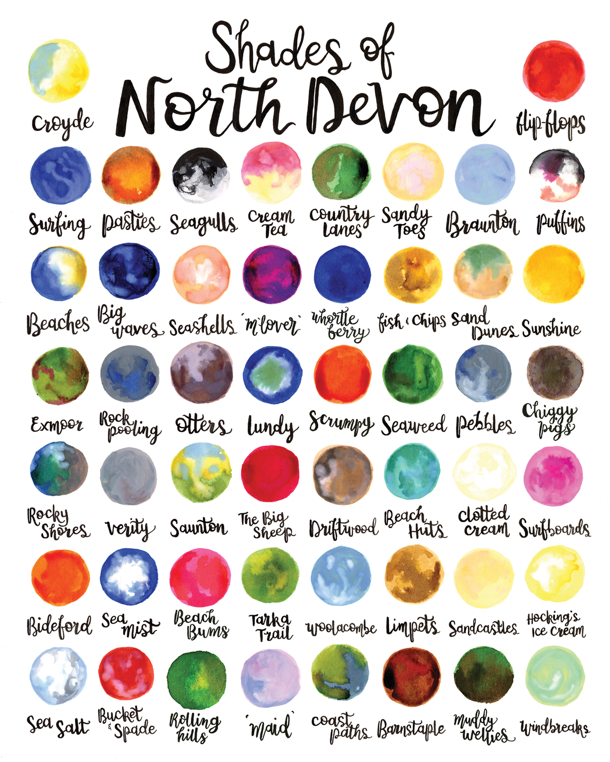 """Shades of North Devon"""