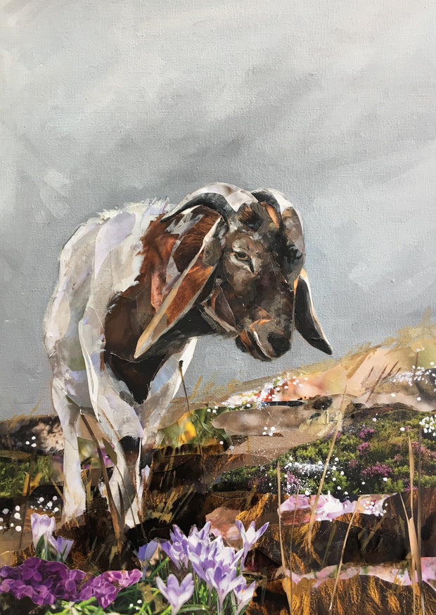 artwork-of-goat-in-North-Devon-Jackson-and-Young