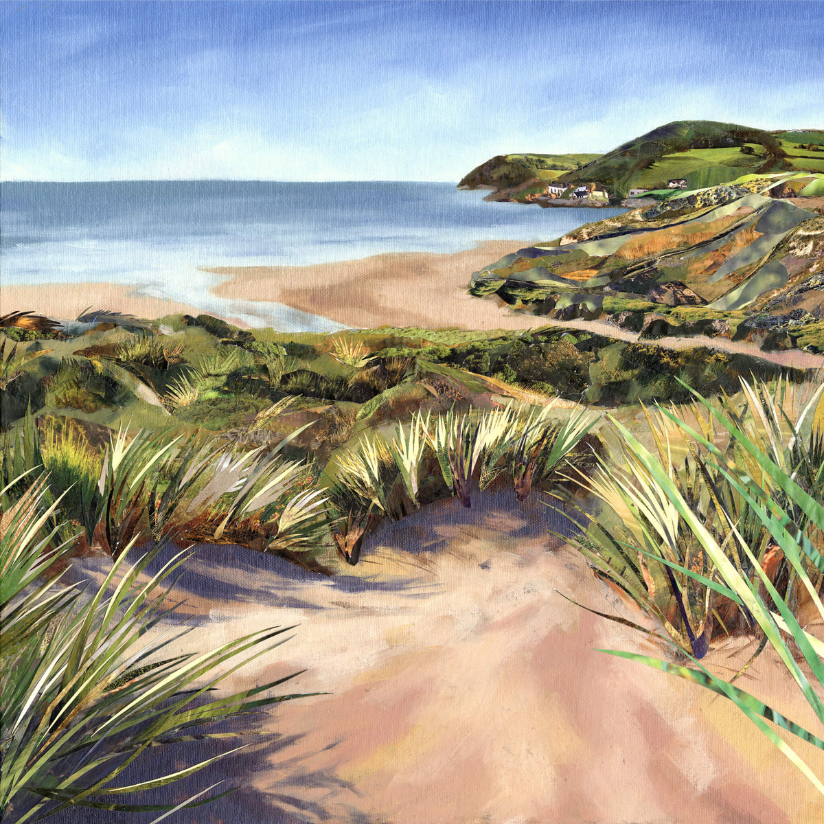 Woolacombe beach, Jackson & Young artwork