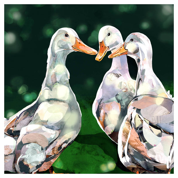 collage-artwork-of-ducks-crafted-by-Sarah-Jackson