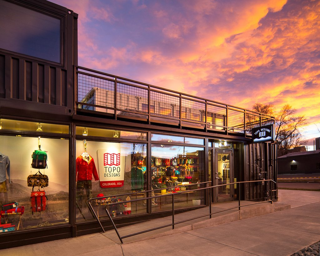 Topo Designs Denver Flagship store