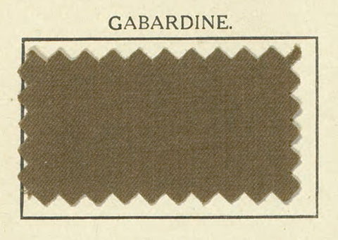Burberry Gabardine Fabric