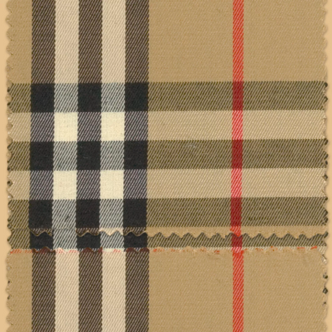 Burberry Check Trademark