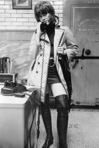 Jane Fonda Trench Coat