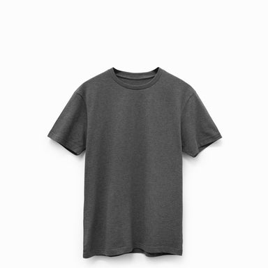 Charcoal Heather American Grown Supima® 100% Cotton 6oz T-Shirt