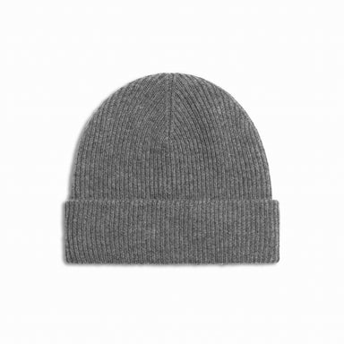 Heather Grey Cashmere Merino Wool Beanie