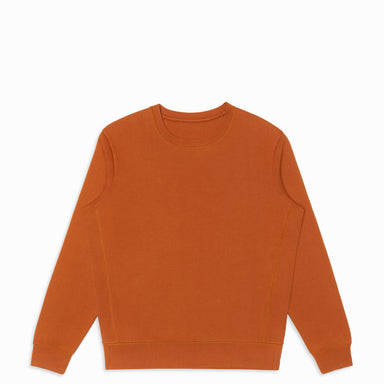 Clay Organic Cotton Crewneck Sweatshirt