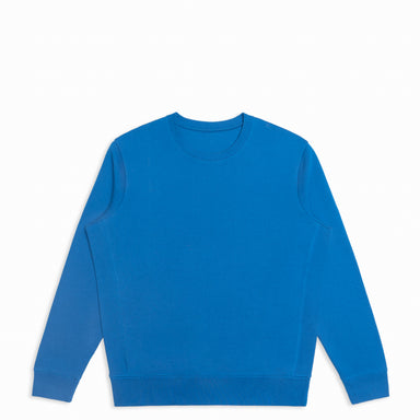 French Blue Organic Cotton Crewneck Sweatshirt