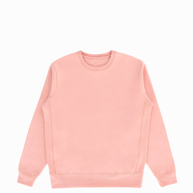 Salmon Organic Cotton Crewneck Sweatshirt