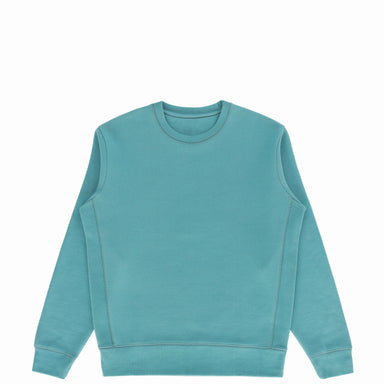 Aqua Organic Cotton Crewneck Sweatshirt