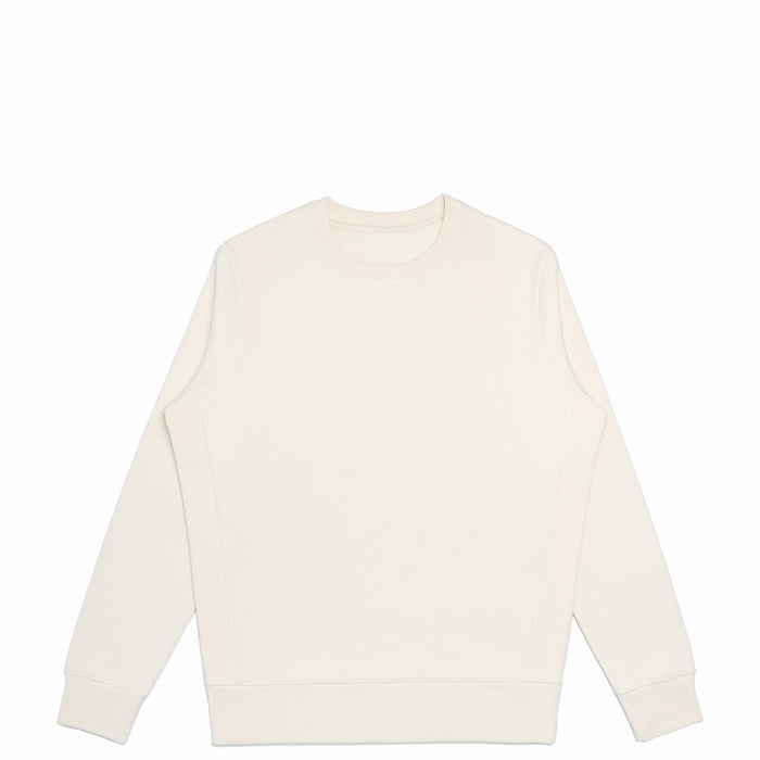 Natural Organic Cotton Crewneck Sweatshirt