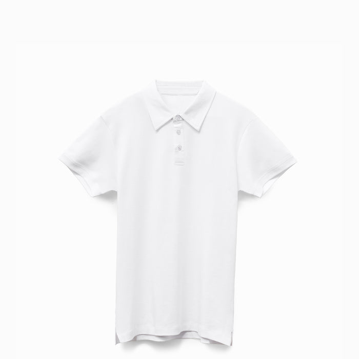 White American Grown Supima® 100% Cotton Polo Shirt