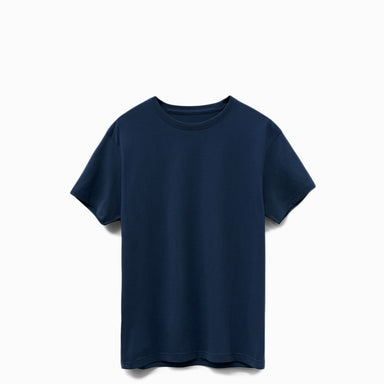 Navy American Grown Supima® 100% Cotton 6oz T-Shirt