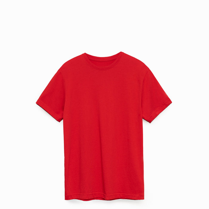 Primary Red American Grown Supima® 100% Cotton 6oz T-Shirt