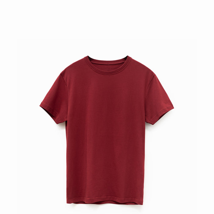 Oxblood American Grown Supima® 100% Cotton 6oz T-Shirt