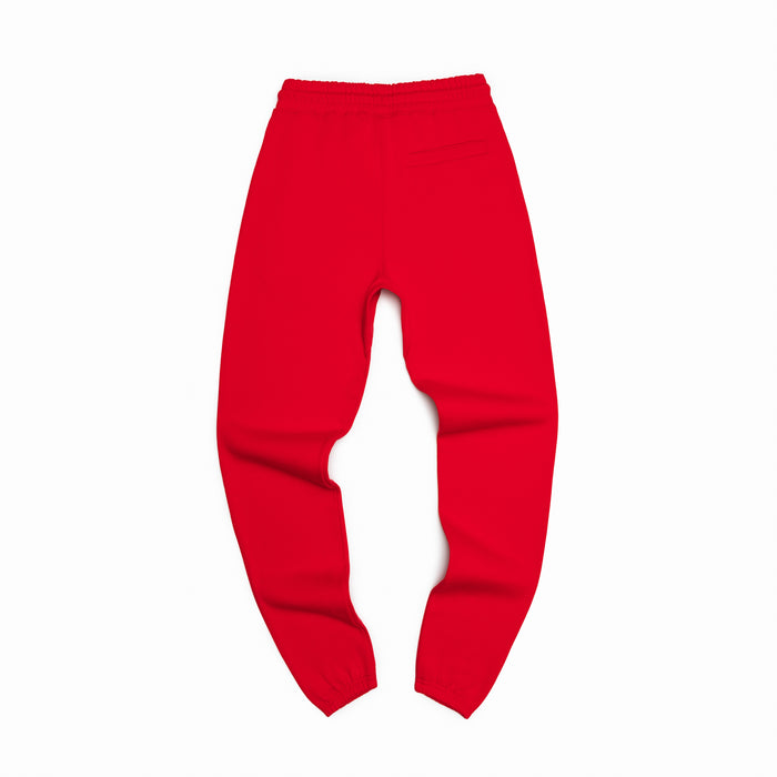 Primary Red Organic Cotton Sweatpants