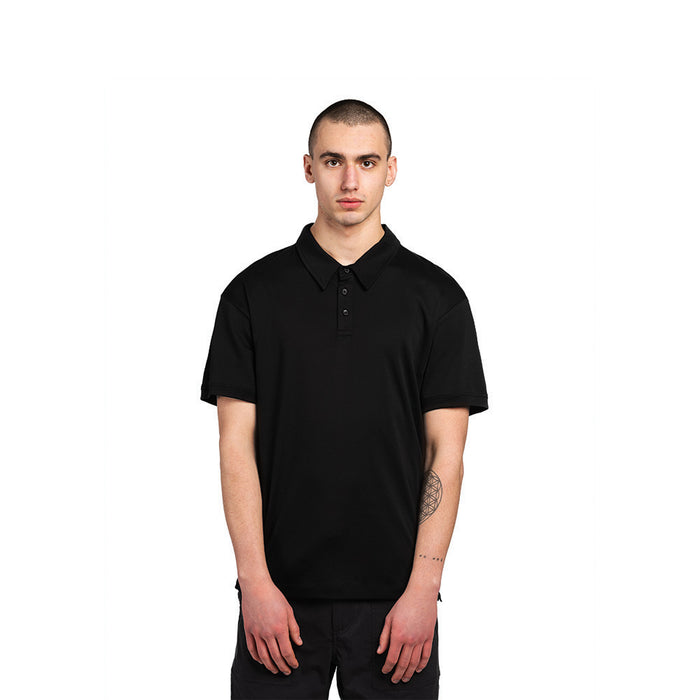 Black American Grown Supima® 100% Cotton Polo Shirt