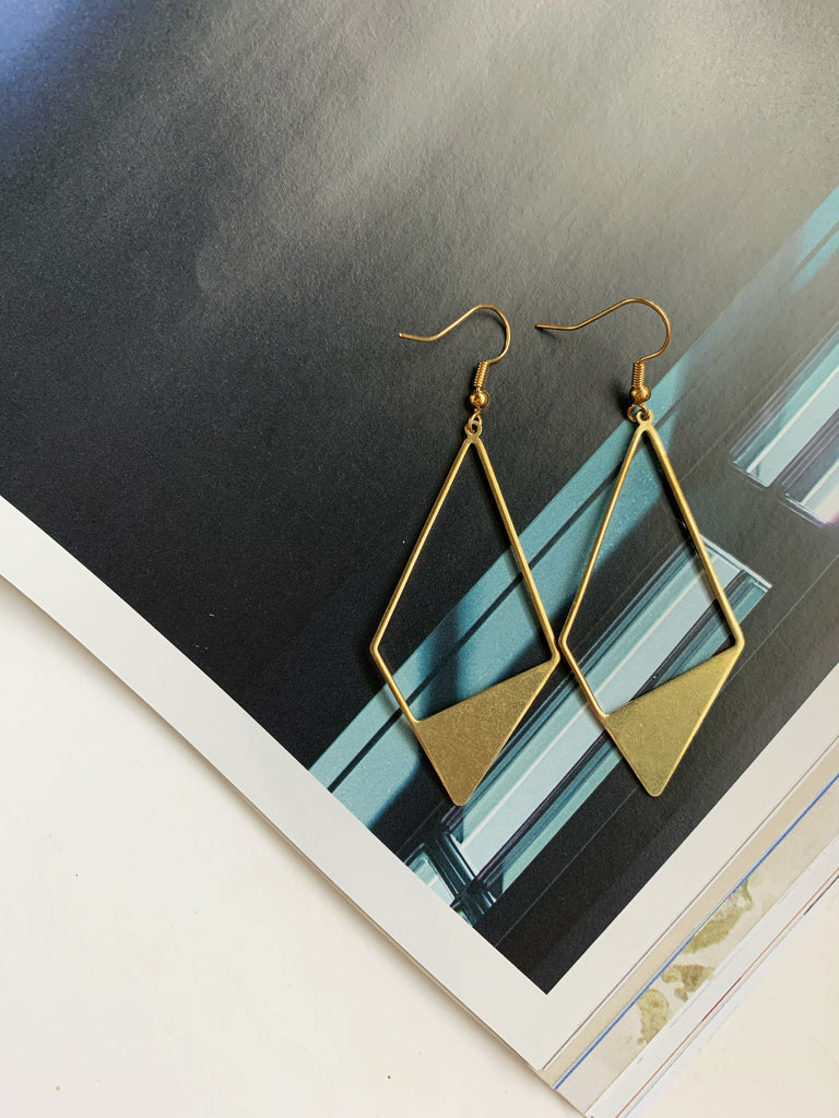 Earrings of the week in Double Diamond