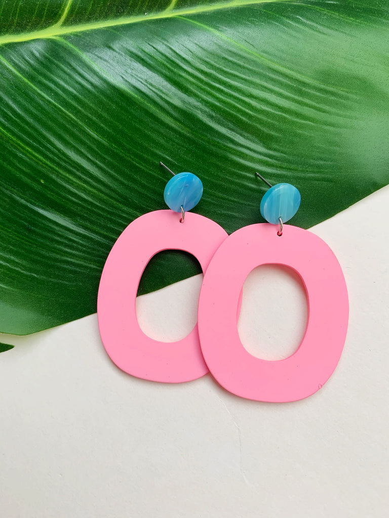Earrings of the week in Pink Passion