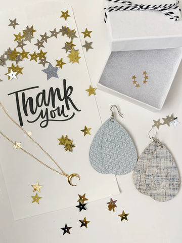"Earrings of the week in ""Thank Your Lucky Stars"" Jewelry Capsule Collection"