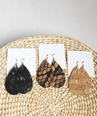Cork Collection Earrings