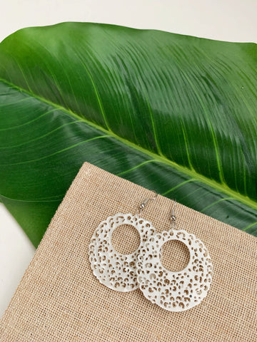 Earrings of the week in Lacy Lady