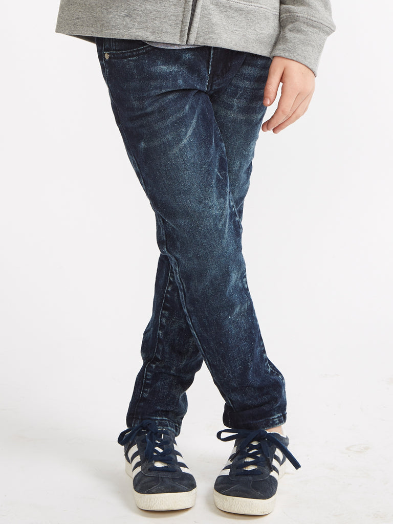 Boys Straight Leg Denim Jeans