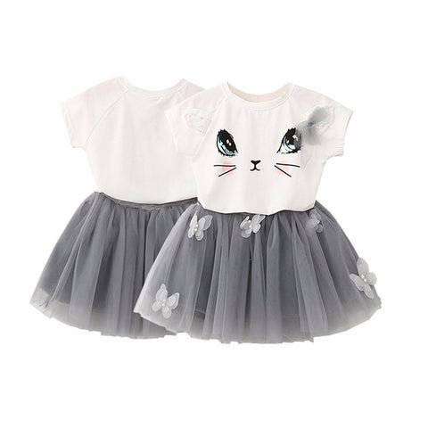 Kitty Kat 2pc Girls Set