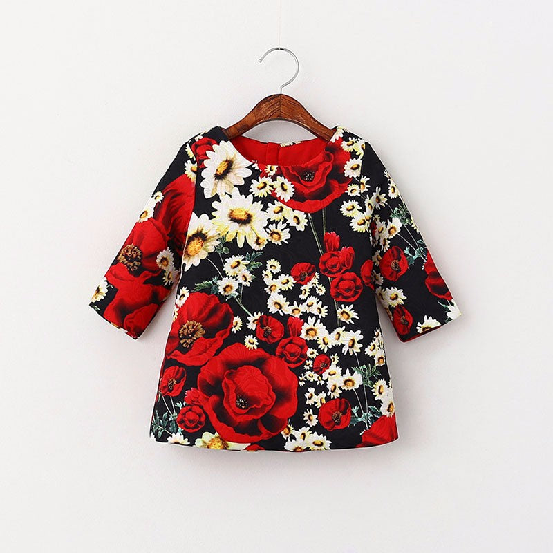 Poppy Girls Floral Dress