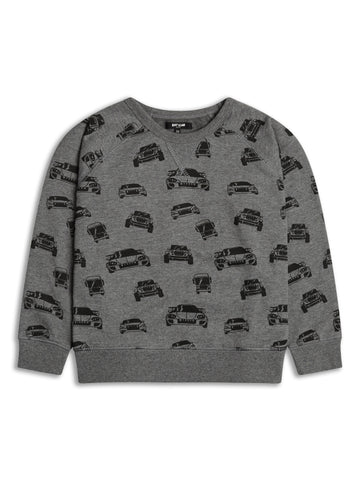 Boys Race Car Sweater