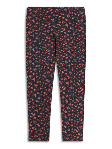 Girls Mini Floral Fashion Leggings