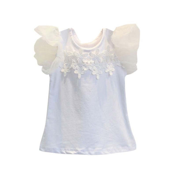 Lily Lace Tee and Shorts Set